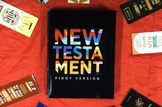 TINGNAN: Ilang berso mula sa 'New Testament: Pinoy Version'
