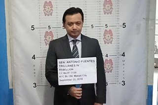 Police takes Trillanes into custody