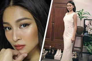 LOOK: Nadine Lustre prepares for ABS-CBN Ball
