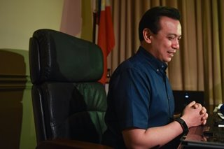 Trillanes says to leave Senate sanctuary