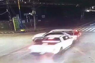 SAPUL SA CCTV: Pick-up truck, SUV nagbanggaan sa Puerto Princesa