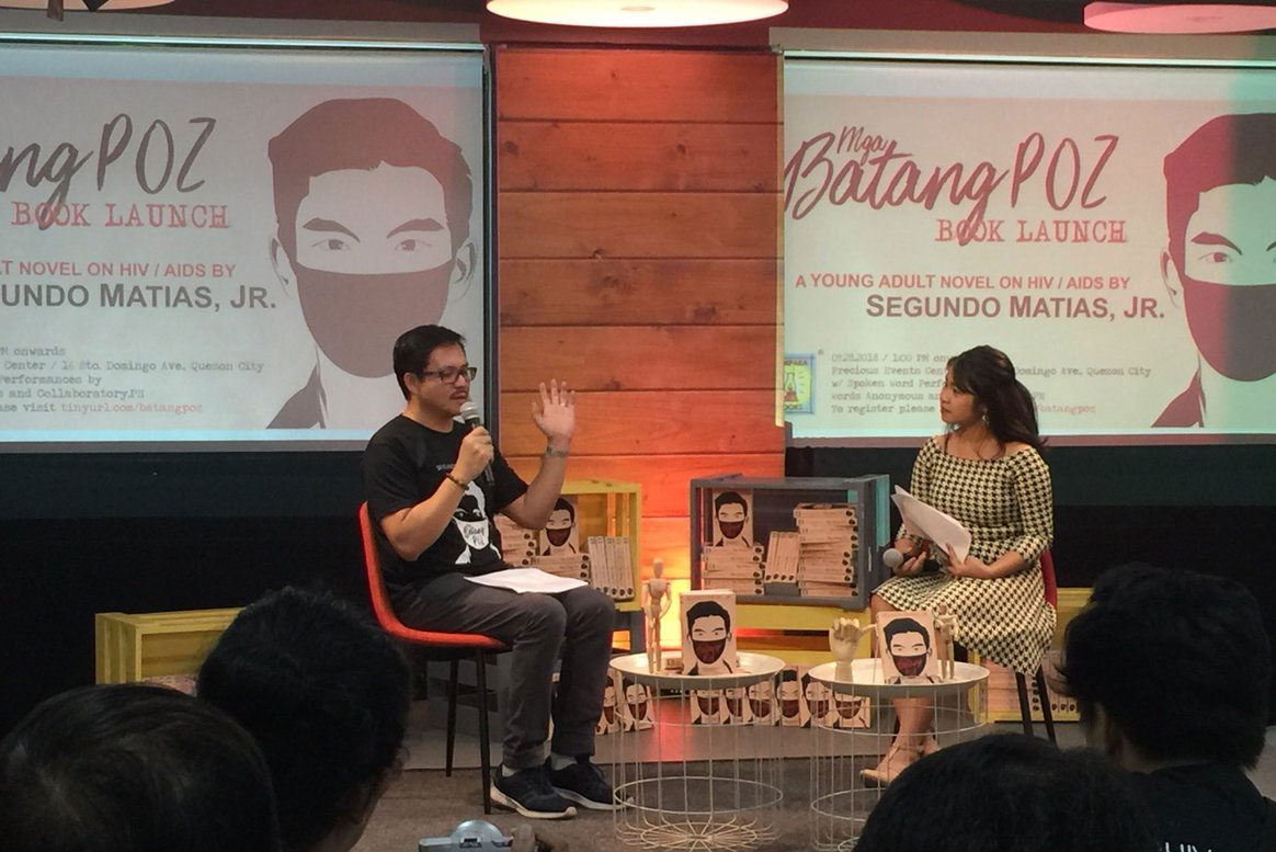 First PH young adult novel tackling HIV/AIDS launched | ABS-CBN News
