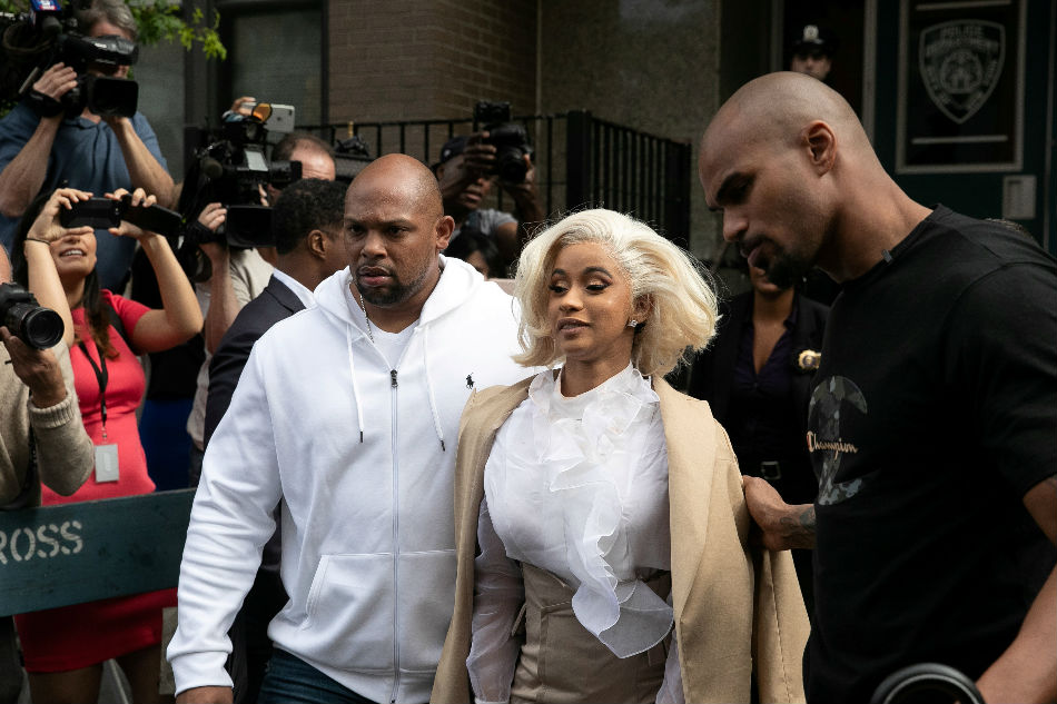 Cardi B Surrenders to Police Over Alleged Strip Club Fight