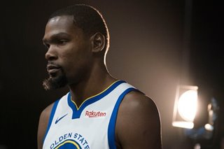 Report: 'No way' Durant remains in Golden State after this season