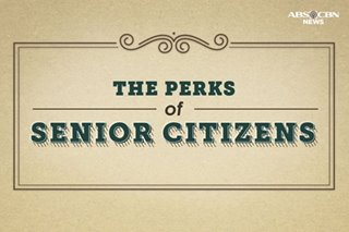 The perks of senior citizens