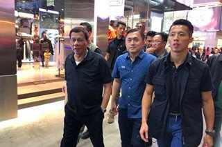 No shopping in HK for Duterte - Bong Go