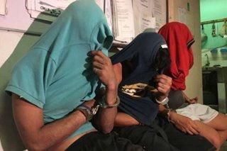 3 construction worker arestado sa drug session sa QC