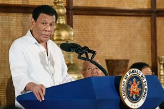 Palace: Duterte to veto items in budget if it violates SC ruling on pork