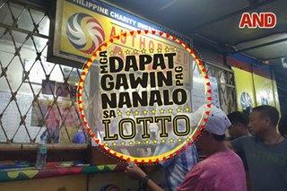 Mga dapat gawin pag nanalo sa lotto
