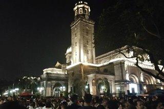 Huling araw ng public veneration ni Padre Pio sa Manila Cathedral, dinagsa