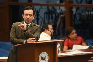 Trillanes gets 2 new police security escorts