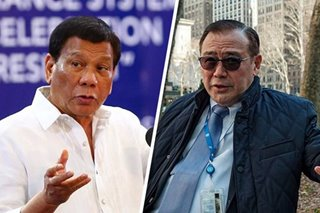 Duterte on next DFA secretary: Ask Teddy Boy Locsin
