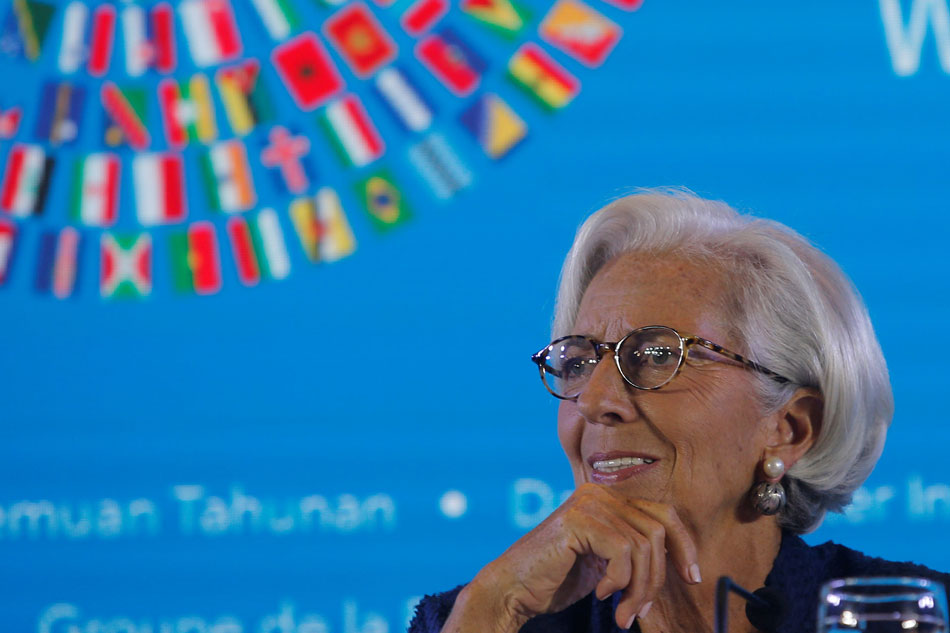 Lagarde Expects More Market Volatility With Trade Trouble