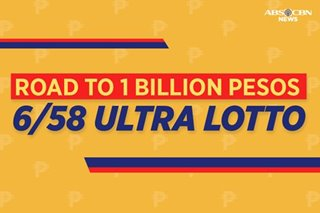 Road to P1 billion: The Ultra Lotto 6/58