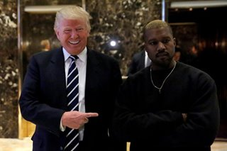 Trump says Kanye West White House bid 'interesting'