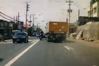 SAPUL SA DASHCAM: Trak, inararo ang 6 na sasakyan sa Antipolo; 19 katao sugatan