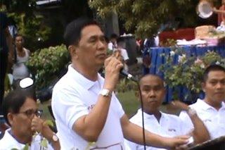 Davao Del Sur town mayor faints during speech