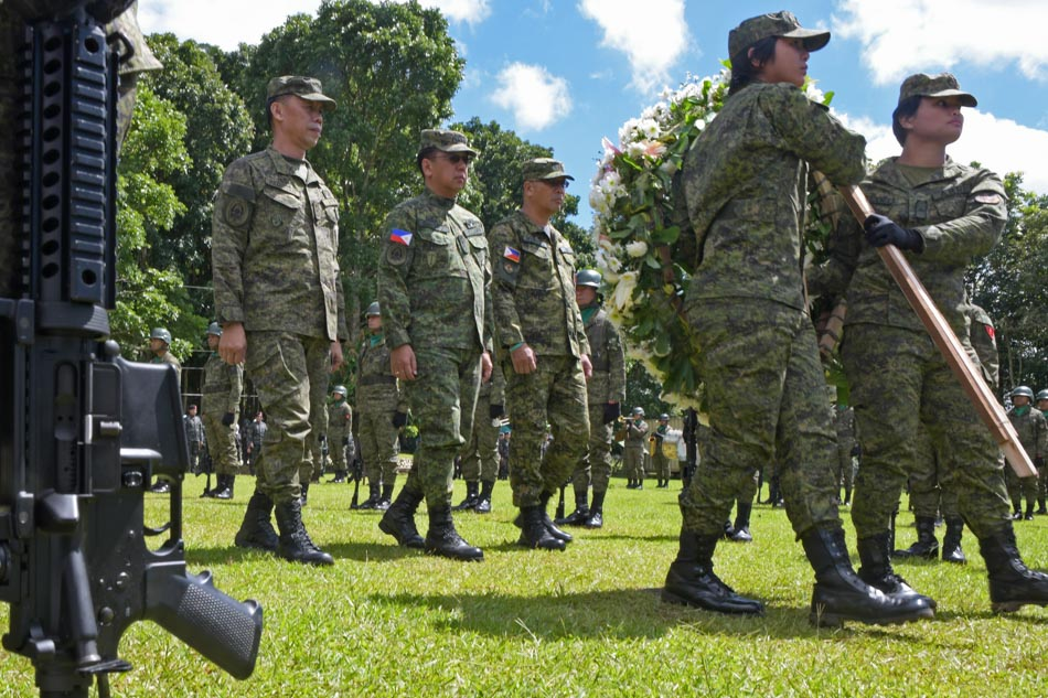 White flowers for Marawi heroes