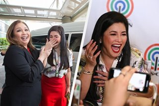 'Narito na siya': Grand Kapamilya welcome for Regine Velasquez, in photos