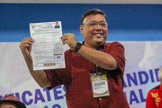 Harry Roque pursues Senate bid