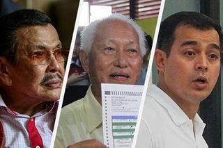 'Isip bata siya': Erap blasts Isko for telling elders to give way