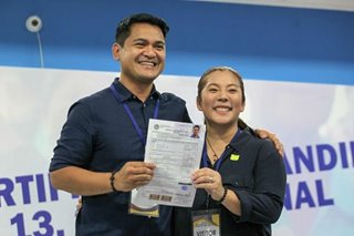 Veteran TV reporter Jiggy Manicad files candidacy for Senate