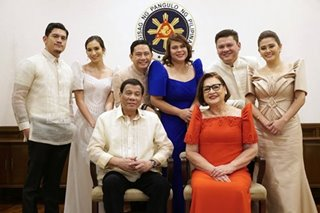 Palace shrugs off controversy over Duterte family wealth