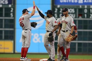 Baseball: Close calls lean toward Boston on way to 3-1 ALCS lead