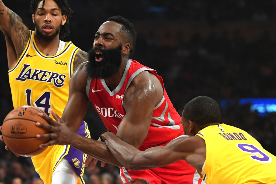 Rajon Rondo Abs Rockets top Lakers as ...