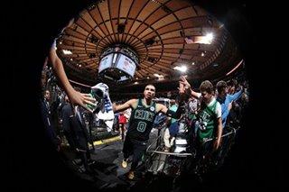 Tatum's 6-point run lifts Celtics over Knicks