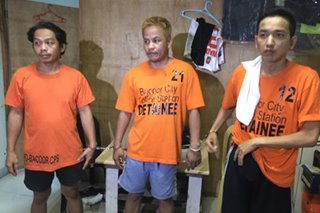 3 dawit sa Maiso crime group, timbog sa Bacoor City