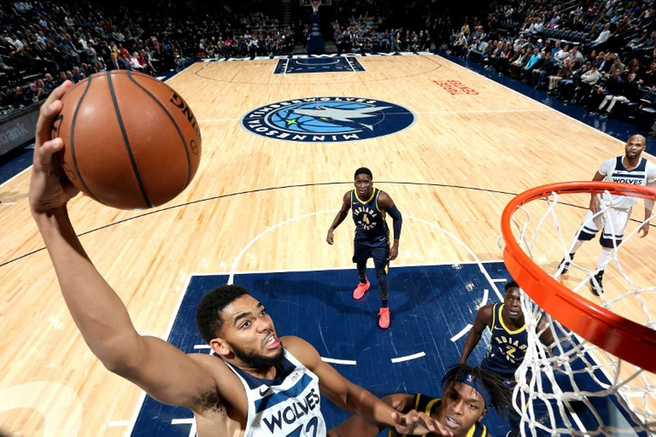 Fourth-quarter spurt carries Timberwolves past Pacers, 101-91