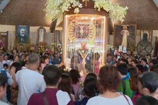Heart relic ni Padre Pio, dinarayo sa Batangas