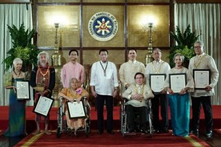 2018 National Artists Awardees
