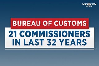 In the hot seat: 21 Customs commissioners in the last 32 years