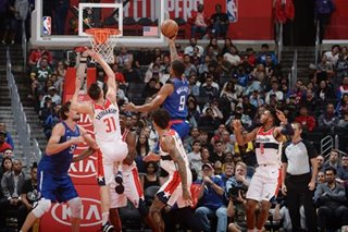 Clippers put 9 in double figures, rout Wizards