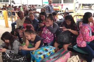 Stranded na pasahero dahil sa bagyong Rosita, nasa 2,000 na