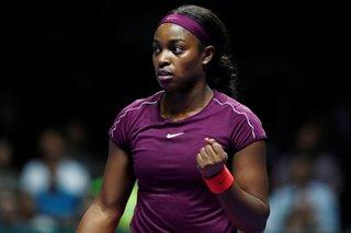 Stephens proud despite coming up short at WTA Finals
