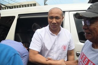'We're just changing battlefields,' Alejano says of 2019 Senate bid