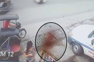 TINGNAN: 'Kaluluwa' ng yumaong pulis, nasapul sa CCTV?
