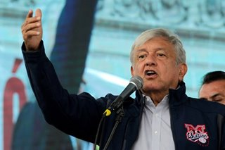 Mexican president denies communist past