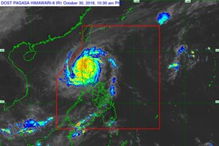 7 areas under signal no. 3 as Rosita heads towards Benguet