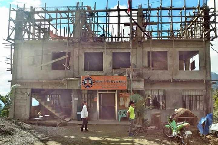 3 dead, several trapped inside landslide-hit building in Mt. Province 1