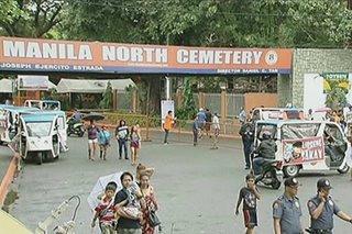 Seguridad sa Manila North Cemetery, todo-higpit na