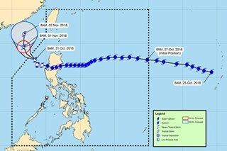 'Rosita' weakens further but rains in Luzon areas to persist