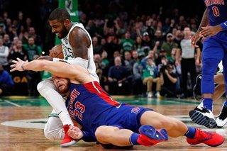 Celtics survive, earn 2nd straight win over Pistons
