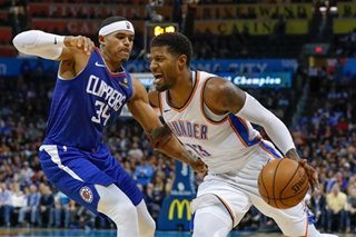 Westbrook, George lead Thunder storm vs. Clippers