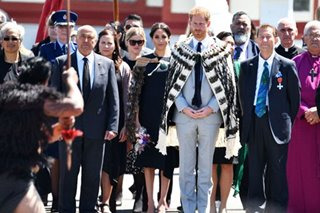 Britain's Prince Harry marks final day of Pacific tour with song in Maori language