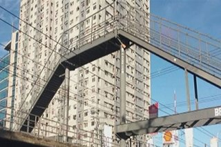 Too high? MMDA defends Kamuning footbridge