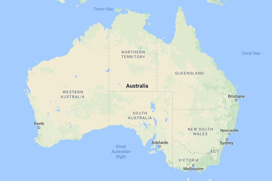 Map Of Australia For Students.Pinoy Student Drowns In Australia Dfa Abs Cbn News